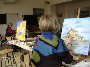 atelier peinture 2b