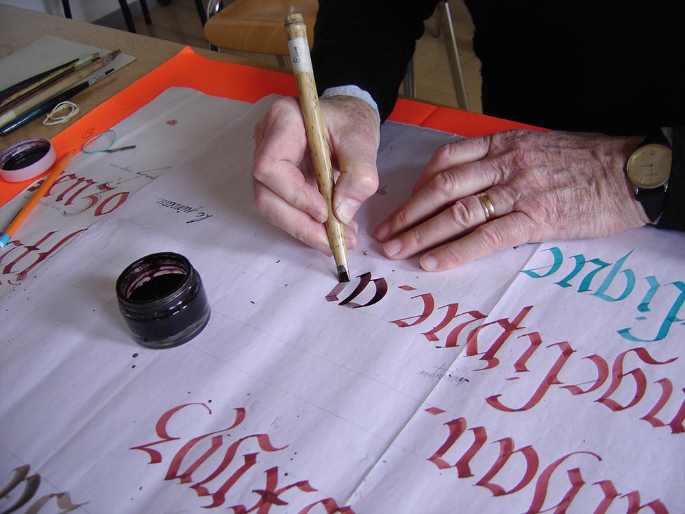 calligraphie 4C